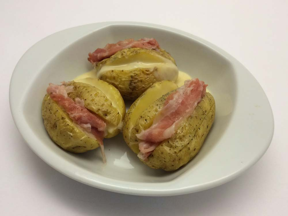 Jacket potatoes, senza glutine