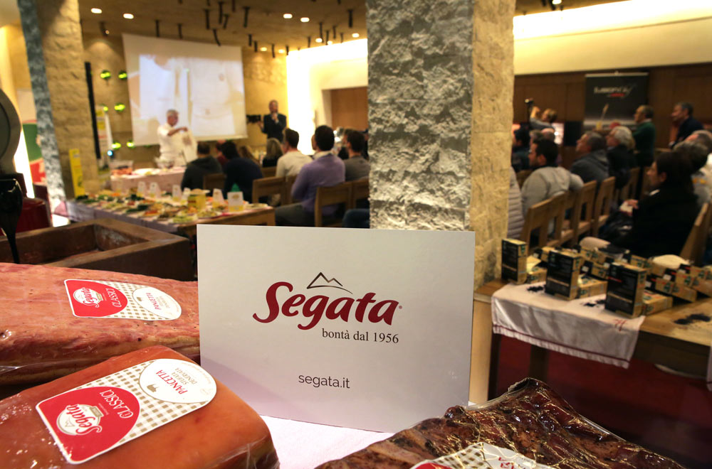 Segata and Orogel in an evening dedicated to the world Ho.Re.Ca..