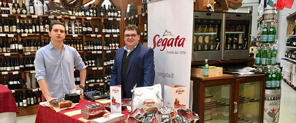 Tasting of Segata sausages in Munich